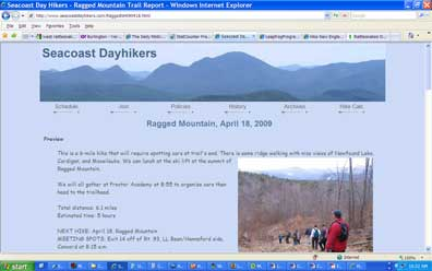 SeacoastDayhikers.com